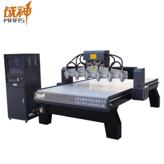 Multi Heads Woodworking CNC Router Machinery for Engraving